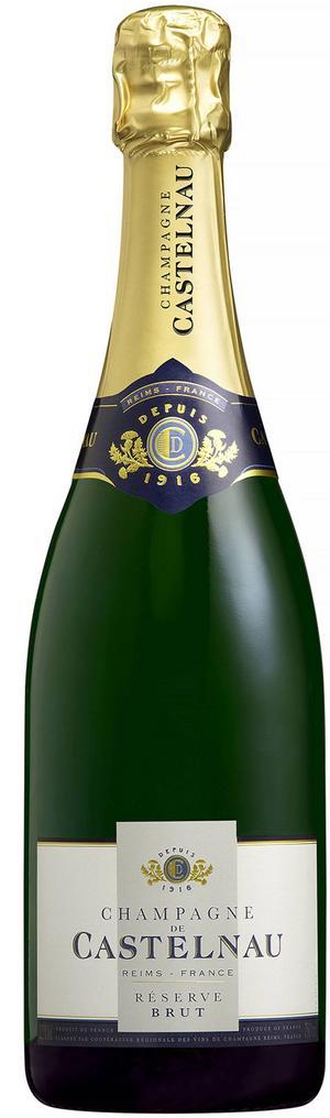 En utmärkt champagne i Systembolagets beställningssortiment är Castelnau Réserve Brut, 289 kr.