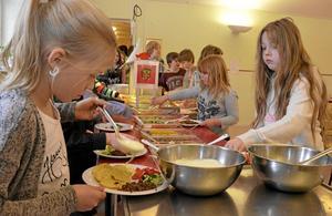 18 gram slängd mat per elev och dag gjorde skolan till vinnare i kommunens tävling om att minska matsvinnet.