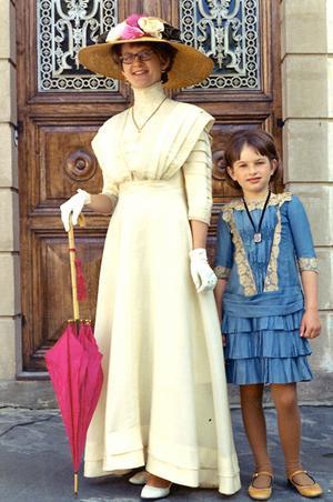 Marianne Nylund med dotter Anne-Marie.
