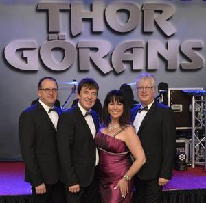 Thor Görans i dag: Tomas Kvassman, Peter Grundström, Agneta Olsson och Dick Sjöberg.