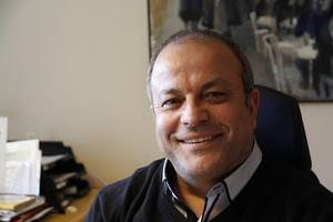 Mohamed Chabchoub, arbetsförmedlingschef södra Hälsingland.