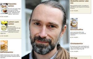 Magnus Carlstedt är chefredaktör för receptsidan semlor.nu.