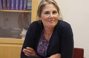 Ingela von Sydow arbetar på Jämtlandsgymnasium och är projektledare för räknestugan.