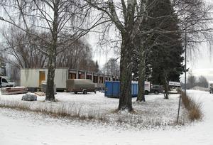Boendet för flyktingbarnen i skol- och gymnasieåldern ligger i korsningen Elevgatan/Lundevägen.