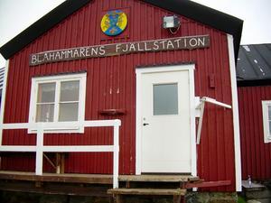 Blåhammarens fjällstation.