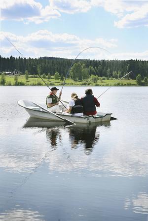 Det är vanligt att det är en liten båt som kantrar. Då är det viktigt att flytvästarna är på.