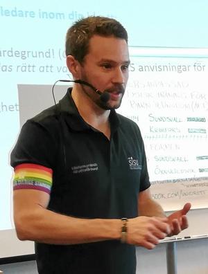 Magnus Forsberg, Idrottskonsulent på Västernorrlands Idrottsförbund och SISU Idrottsutbildarna.