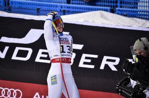 Kajsa Kling var inte helt nöjd med sitt VM-åk i super G.