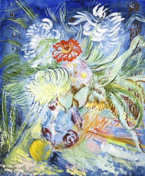 Sigrid Hjertén blev en av det svenska avantgardets frontgestalter och hon både hyllades och kritiserades för sitt expressiva färgmåleri.