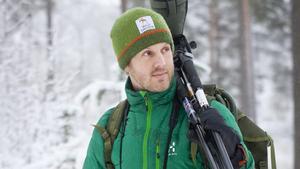 Marcus Eldh driver företaget Wild Sweden som är nominerat till ekoturismpriset. Företaget har tidigare vunnit.