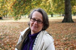 OCKSÅ EN SKOGSÄGARE. Marie Emanuelsson, ordförande i föreningen Spillkråkan som finns för kvinnor som äger skog.