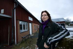 Satsar på hästar. Rose-Marie Persson har skapat en gårdsbutik i Yttre Baggbo.