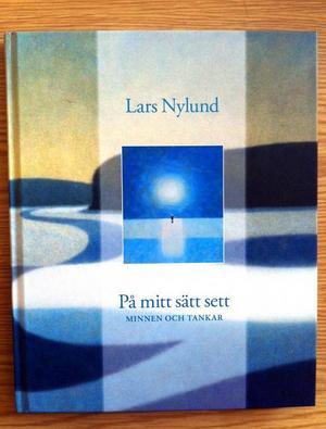 Lars Nylund samlar sina tankar och målningar i en bok.