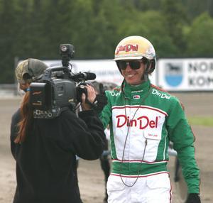 Björn Goop kom, sågs – och segrade på Hagmyren i går. Han vann bland annat första V65-loppet med storfavoriten Yield Boko.