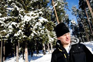 """""""De flesta är väldigt positiva till OS- veckan"""" säger läraren Claes Jönsson.Foto: Henrik Flygare"""