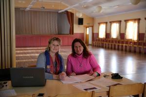 Maria Grönlund och Suzie Lind arrangerar tillsammans hälsomässan.