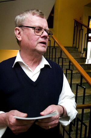 """Optimist ändå. Torbjörn Lindqvist var besviken över det svala intresset för upptakten av insamlingen till en Lars Roos-stiftelse. """"Men nu tar vi nya tag"""", betonade han."""