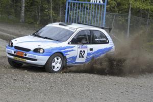 vinnare. Rimos Tommy Högström gav inte de andra en chans i tvåhjulsdrivna klassen och vann med 22 sekunder.