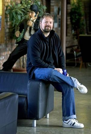 Daniel Johansson forskar om fildelning på KTH i Stockholm.