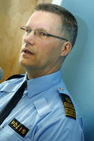 Per Ågren, operativ chef för Västmanlandspolisen.