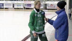 Malin Persson, ett meriterat nyförvärv för VSK.