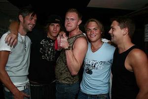 Konrad. Bosse, Jonathan, Börje, Fredrik och Stefan