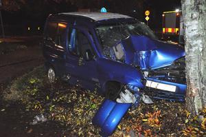 Olyckan inträffade på Myntgatan.