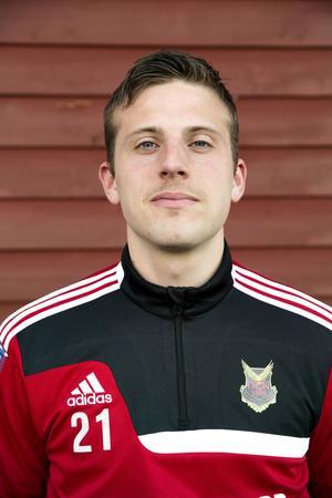 Viktor Hansson, de senaste åren i Östersunds FK, numera i Motala i division 1 södra.   Arkivbild: Anna-Karin Landin
