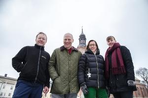 Falu pastorats lag med Stefan Carlsson, Dennis Jansson, Anna Kjellin ochTerese Wängdahl. Thomas Andersson saknades på intervjudagen på grund av sjukdom.