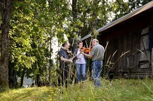 Inspirerande. Spelmansstämman vid Hjuljärn är ett tillfälle för musikerna att spela ihop, bli inspirerade och lära sig av varandra.