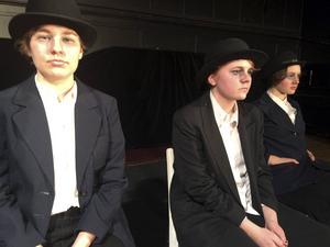 Greta Wilhelmsson, Tintin Hansson Karlsson och Matilda Blomquist gör de tre huvudrollerna i
