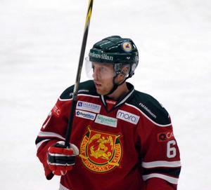Tobias Ericsson blev ende målskytt för Mora mot Södertälje. Efter fyra raka segrar, åkte MIK på en förlust efter 1–3 mot SSK.