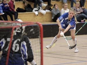 Alva Olofsson gjorde fem mål i mötet med Krokom.