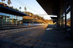 Så här har perrongerna längs Botniabanan sett ut många gånger det senaste året, när det egentligen skulle gått tåg. På drygt elva månader ställdes nästan 1200 avgångar in – fler än 100 i månaden.