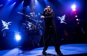 Fredagen den 6 juni spelar Black Sabbath på Sweden Rock med ikonen Ozzy Osbourne på sång.    Foto: Mikkel Berg Pedersen/AP/TT