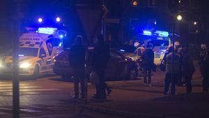 En person blev påkörd i korsningen Sveavägen och Västmannavägen i Fagersta vid 16-tiden på fredagen.