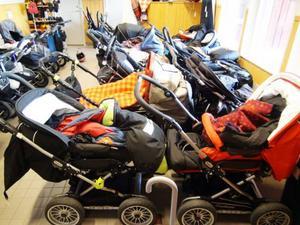 Rean i dag är det smockfullt där alla barnvagnar är parkerade. Värre blir det.