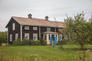 Anders Sandkvist har arrenderat huset i tre år och trivs riktigt bra.