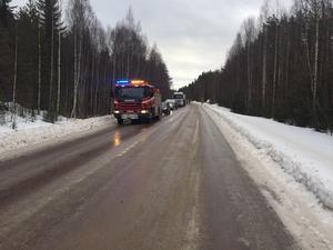 Olycka vid Krokströmmen mellan Älvros och Sänna.
