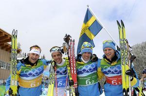 Hela guldkvartetten från Vancouver, Anders Södergren, Marcus Hellner, Johan Olsson och Daniel Richardsson, finns på startlinjen den 3 juli.