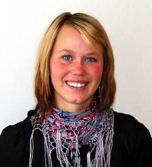 Projektledare Therese Metz arbetar på länsnivå med frågor kring ungas inflytande