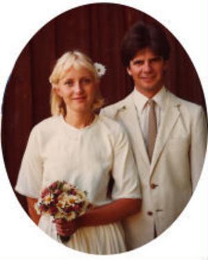 Britt, född Meiton, och Lars Fagerström firar i dag silverbröllop. De vigdes den 19 juni 1980 i Sundsvalls tingshus av tingsdomare Lars Dixelius.