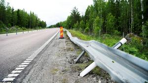 Tre män dog i en trafikolycka på riksväg 66, i höjd med Virsbo.