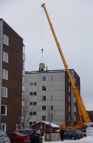 Timråbo installerade solpaneler på Skogsvägen redan 2016.