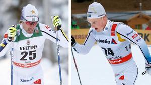 Johan Olsson och Jens Burman imponerade.