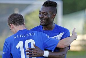 Bamekee Toure gjorde två av Sollefteås fem mål i segermatchen mot Höga Kusten.