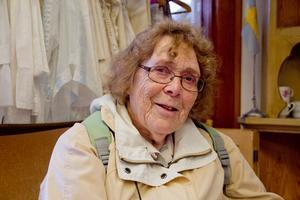 Vanja Leneklint, 82 år, pensionär, Skinnskatteberg:–Nej, jag har inte varit i  Ängelsberg. Jag är konstintresserad och min favorit är en belgisk konstnär som heter Brüegel.
