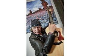 Rockartisten Pugh Rogefeldt är aktuell med sina memoarer. Foto: Lars Pehrson / SvD / SCANPIX