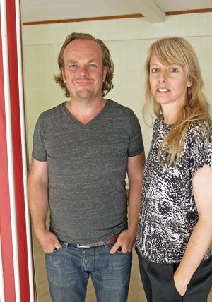 Ola Gustafsson och Catrin Andersson.