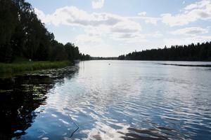 Den regnrika sommaren har gjort att det är svårare att reglera vattennivån i älven.